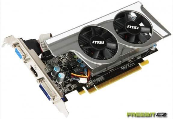 Přetaktovaná GeForce GT 430 od MSI