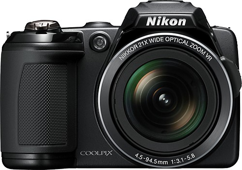 Superzoom Nikon Coolpix L120