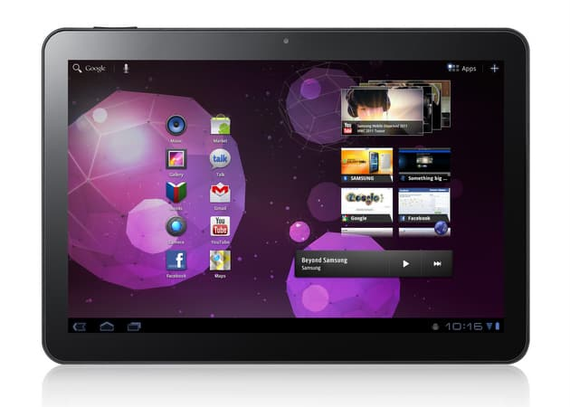 Android tablet Samsung Galaxy Tab 10.1