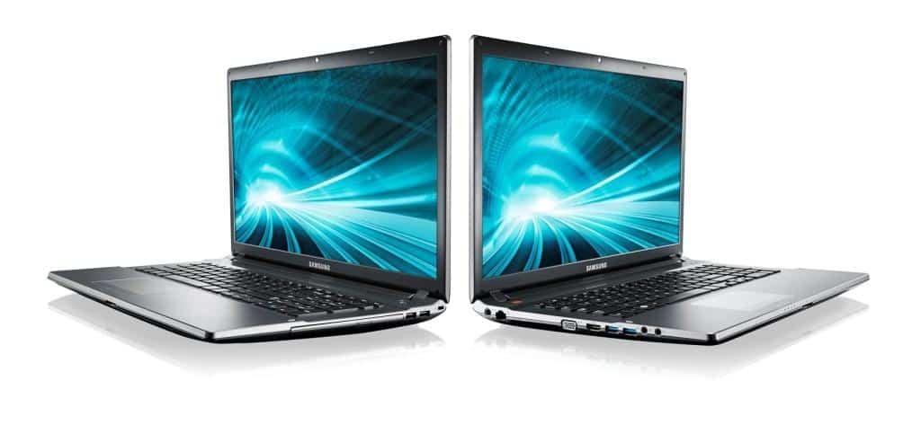 Výkonné notebooky Samsung 550P
