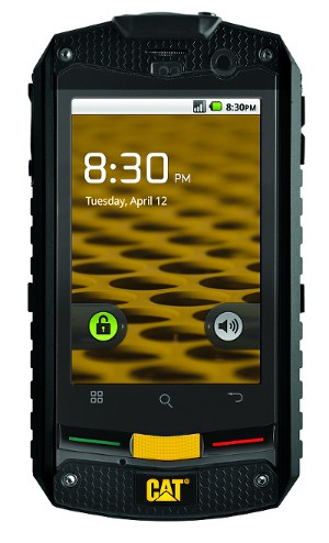 Odolný telefon CAT B10 s Androidem 2.3