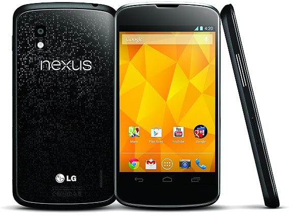 LG Nexus 4 front