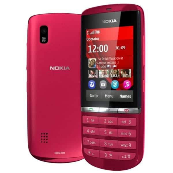 Nokia Asha 300 Red