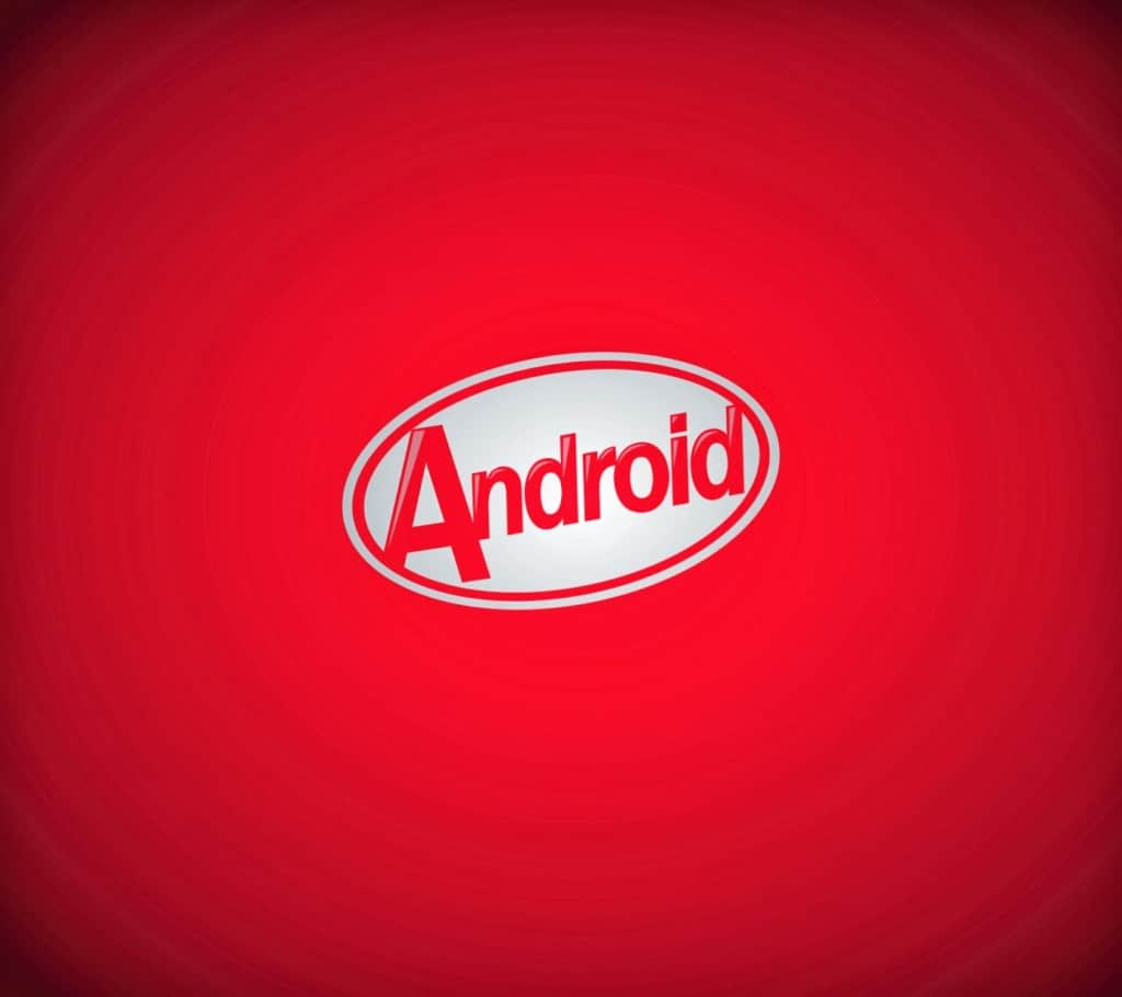 Android 4.4 KitKat RED