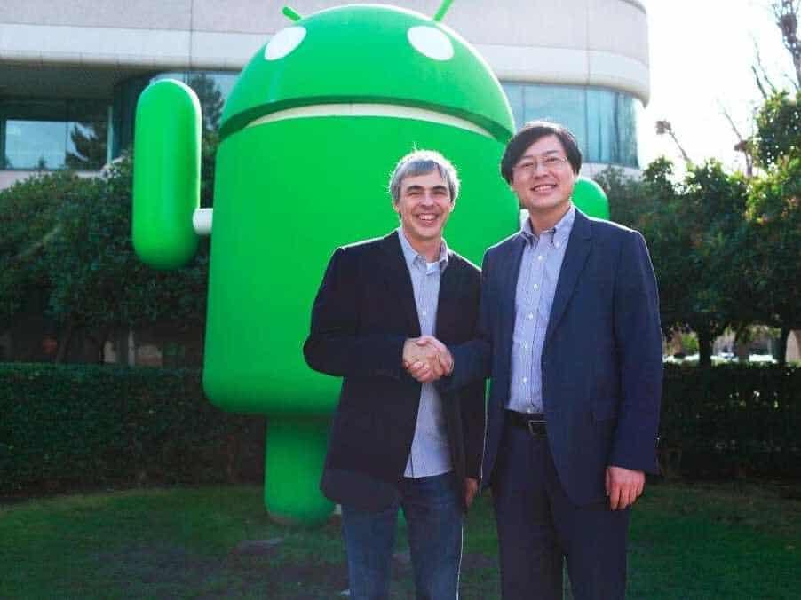 CEO Larry Page pri prodeji