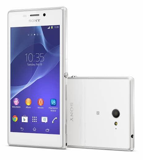 Sony Xperia M2_White