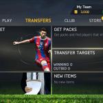 Transfery hráčů, dle filtrů