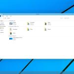 Pohled na složky ve Windows
