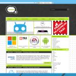 Pohled na webovou stránku v IE 11