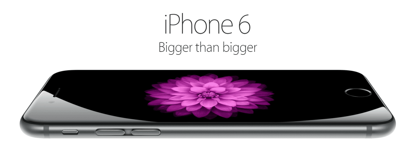 Smartphone Apple iPhone 6 rend