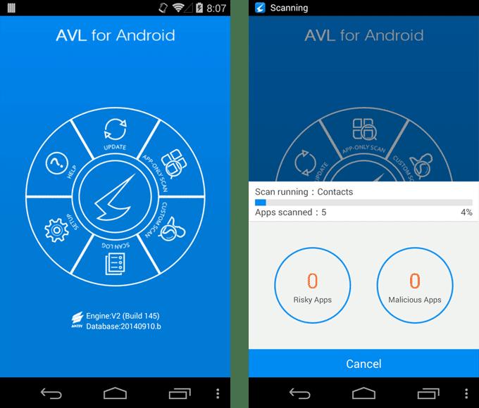 AVL pro Android