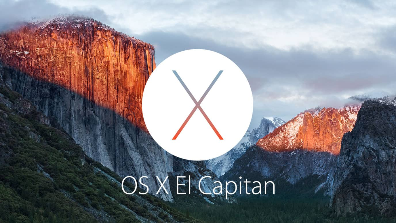 El Capitan Apple