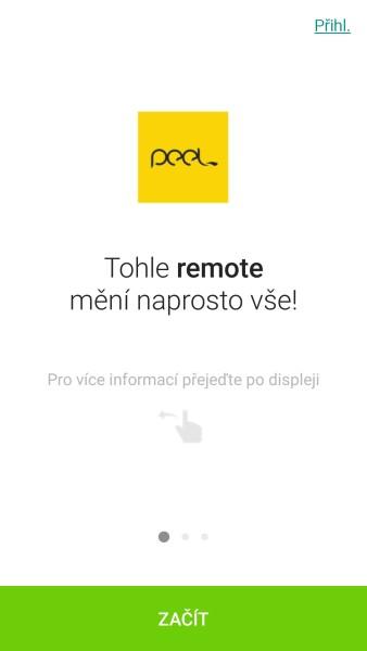 Peel Smart Remote je skvěle vytvořená aplikace