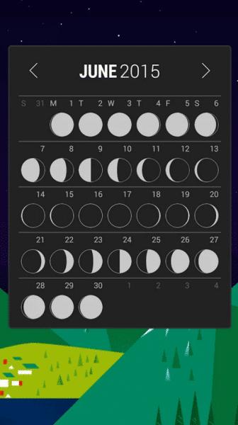 Month lunární kalendář