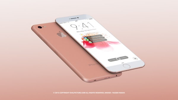 Další render informující o novém iPhonu 7