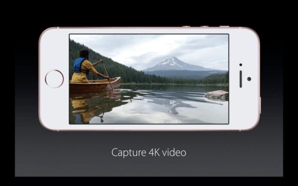 iPhone SE točí 4K video
