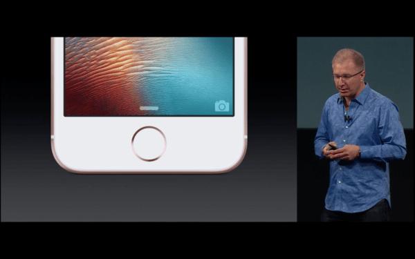 I nový iPhone SE má TouchID