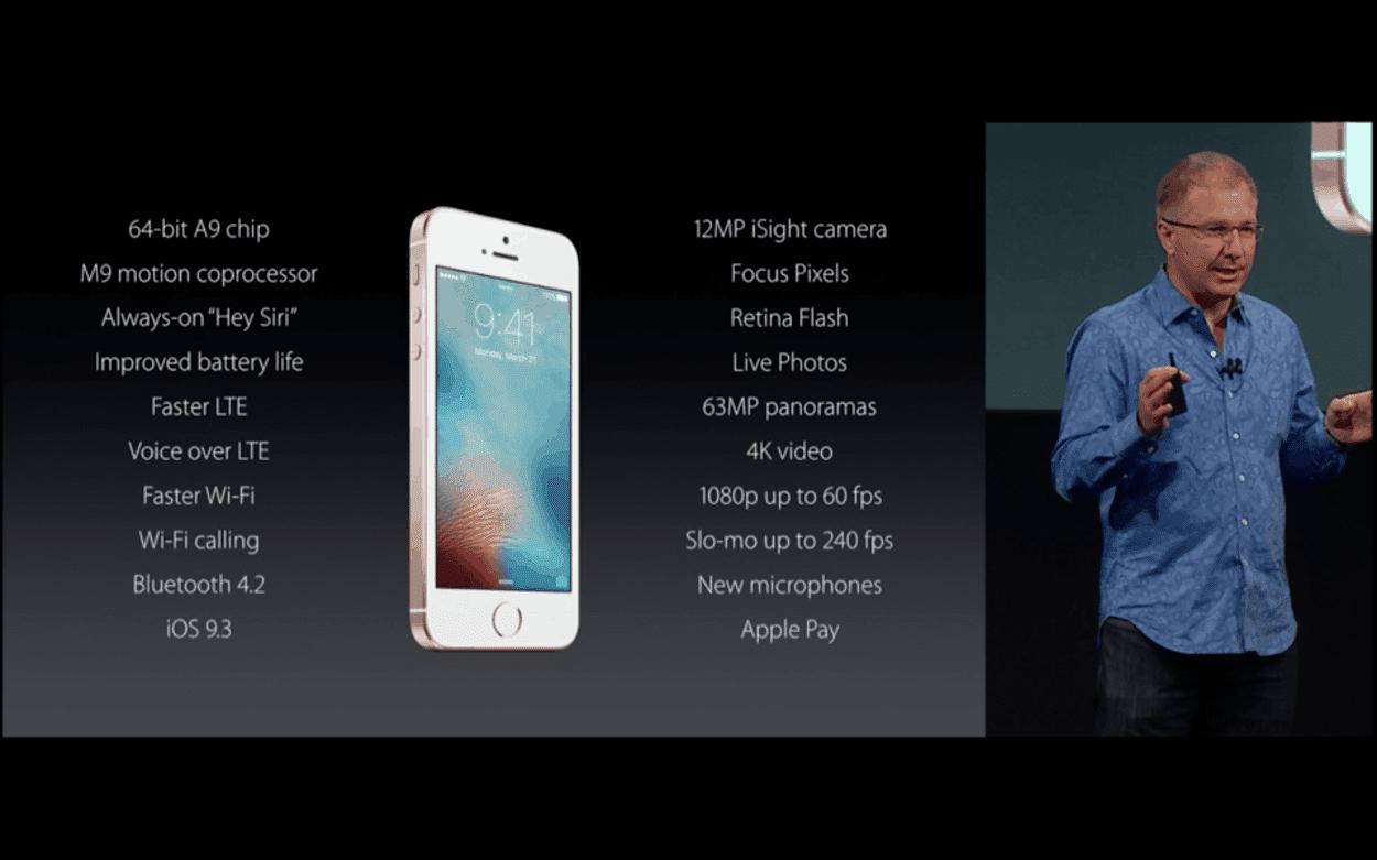 iPhone SE_specs