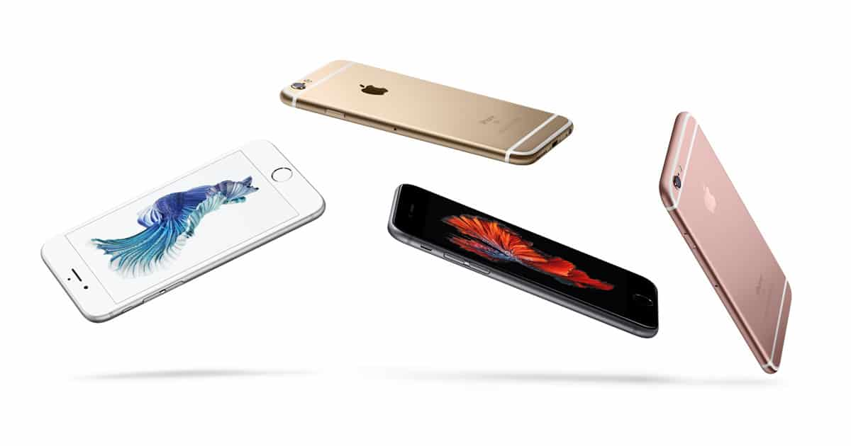 Apple iPhone 6s vykon