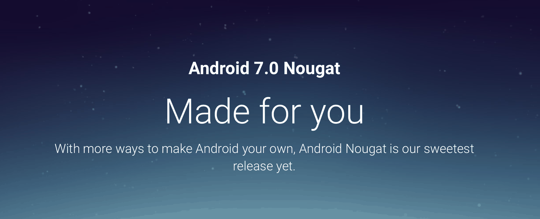 Android Nougat SC