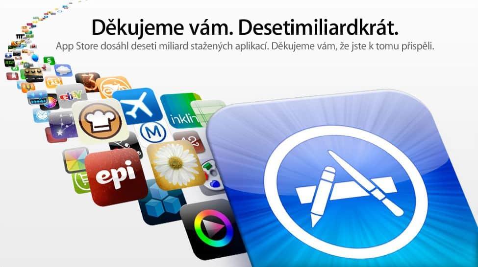 App Store a počet stažení