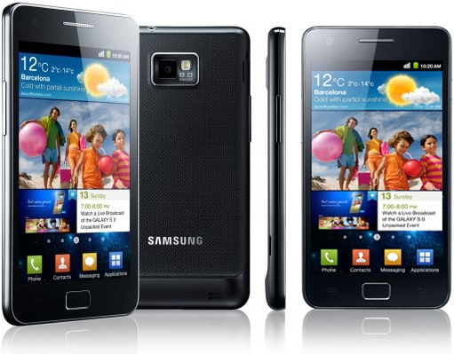 Samsung Galaxy S2 s Androidem Jelly Bean