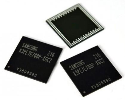 Samsung vyvinul 2 GB RAM pro mobily