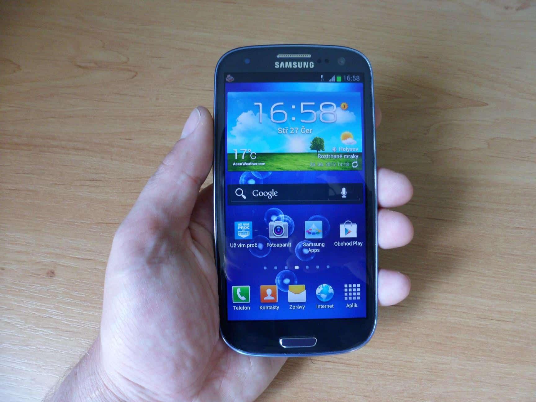 Samsung Galaxy S3 a první dojmy