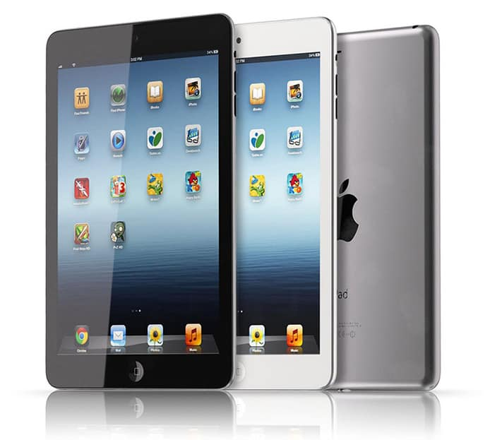 Oficiální fotografie tabletu Apple iPad Mini.
