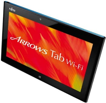 Tablet Fujitsu ARROWS Tab Wi-Fi QH55/J s Windows 8