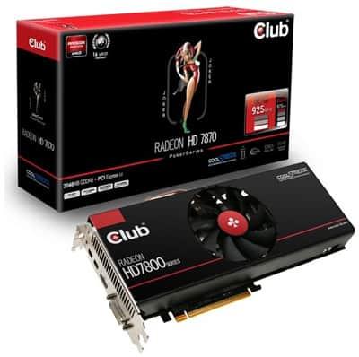 Grafická karta Club 3D Radeon HD 7870 JokerCard