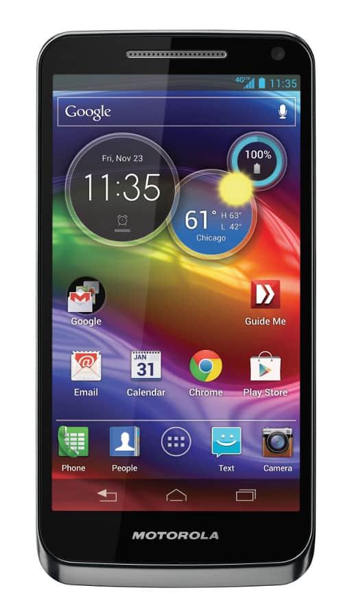 Nový smartphone Motorola ELECTRIFY M v US.
