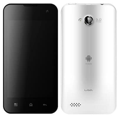 Lava Iris N400 s OS Android ICS