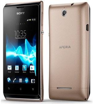 Mobilní telefon Sony Xperia E představen