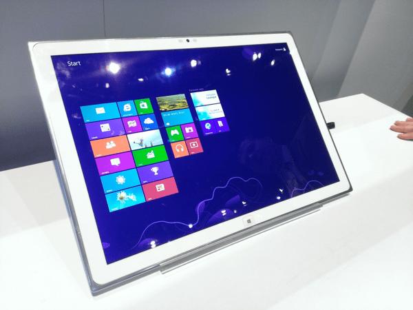 Prototyp tabletu Panasonic s 4K rozlišením