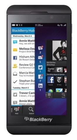 BlackBerry Z10 u Verizonu se smlouvou za 200 dolarů