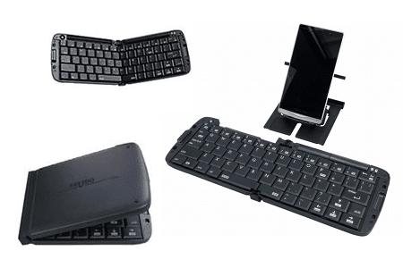 Ryuudo RBK-3000BT - skládací, bezdrátová klávesnice