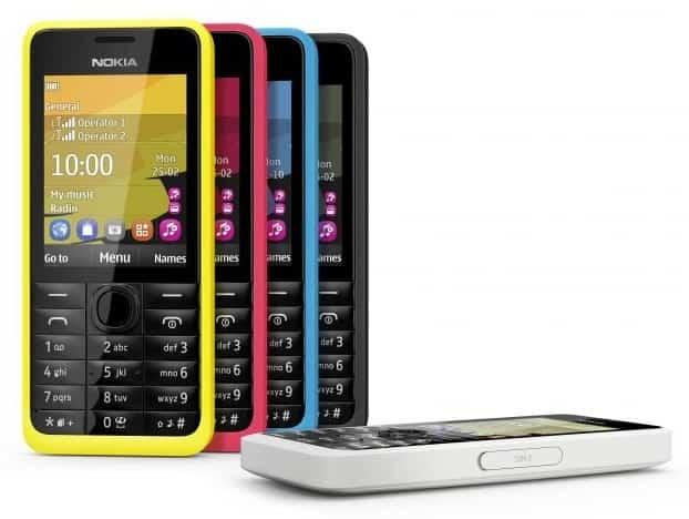 Nokia 301 - levný smartphone