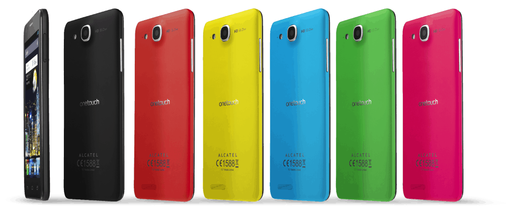 ONE TOUCH IDOL ULTRA - colour range
