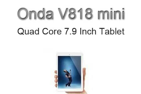 Onda V818 mini - iPad mini po čínsku