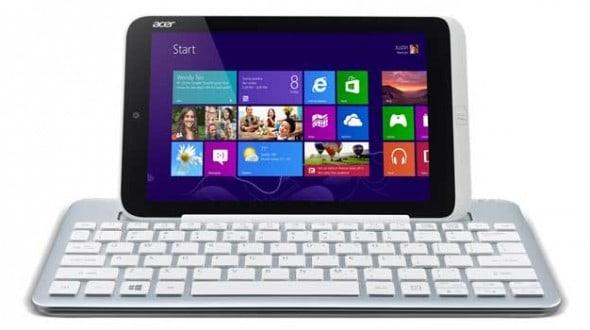 Acer Iconia W3: Osm palců s Atomem a Windows 8 na podzim