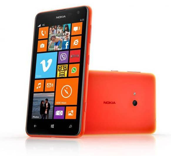 Nokia Lumia 625 freebit