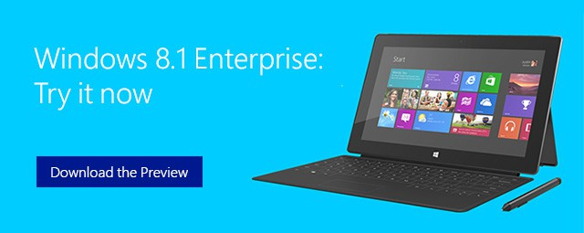 Windows 8.1 Enterprise ke stazeni
