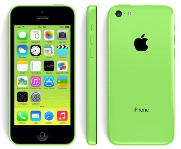 Plastový iPhone 5C