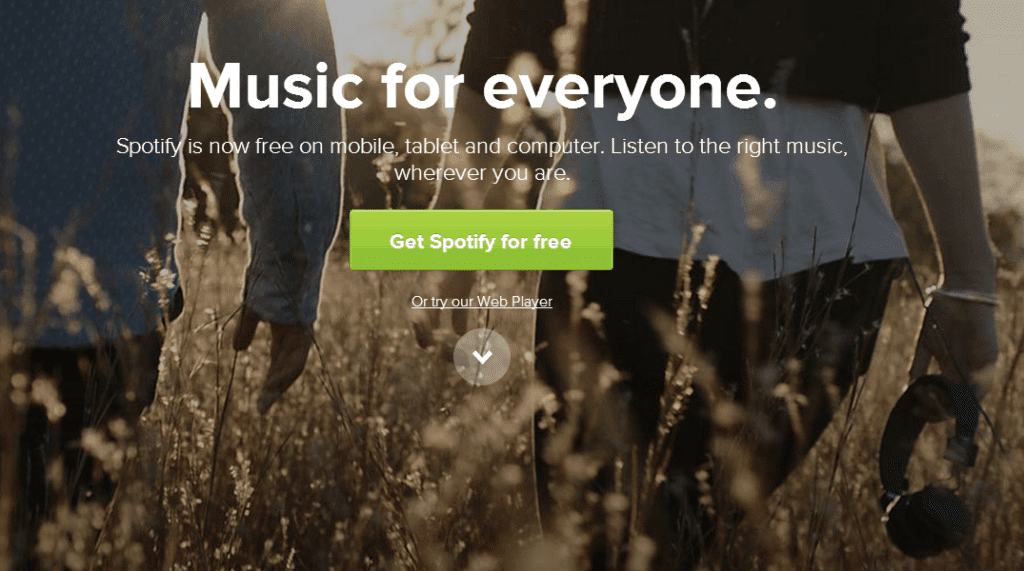 Spotify Off Web