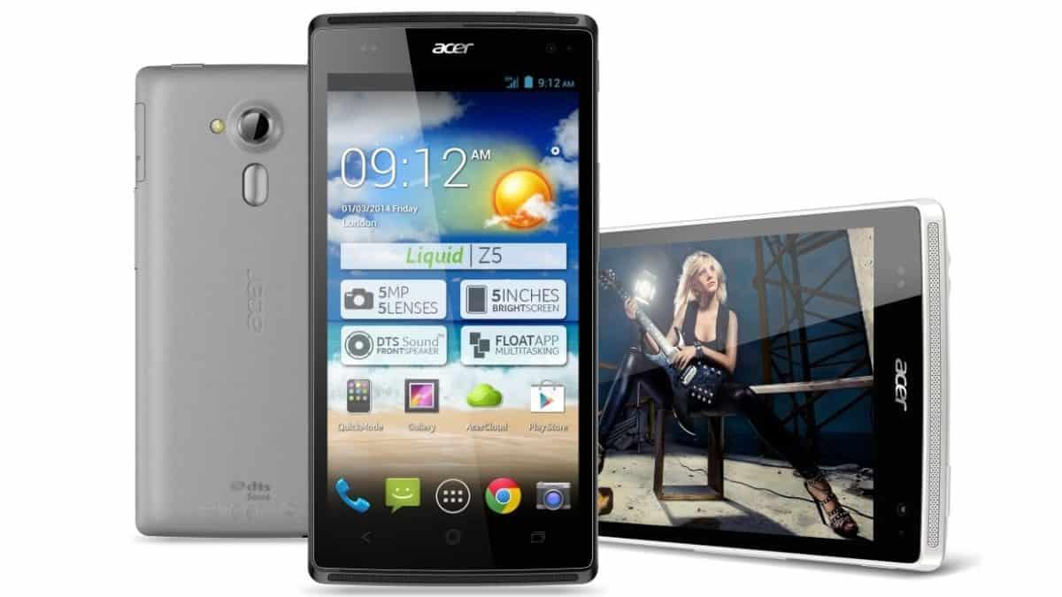 Smartphone Acer Liquid Z5