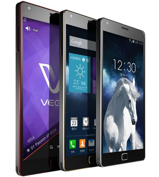 Android smartphone Vega Iron 2