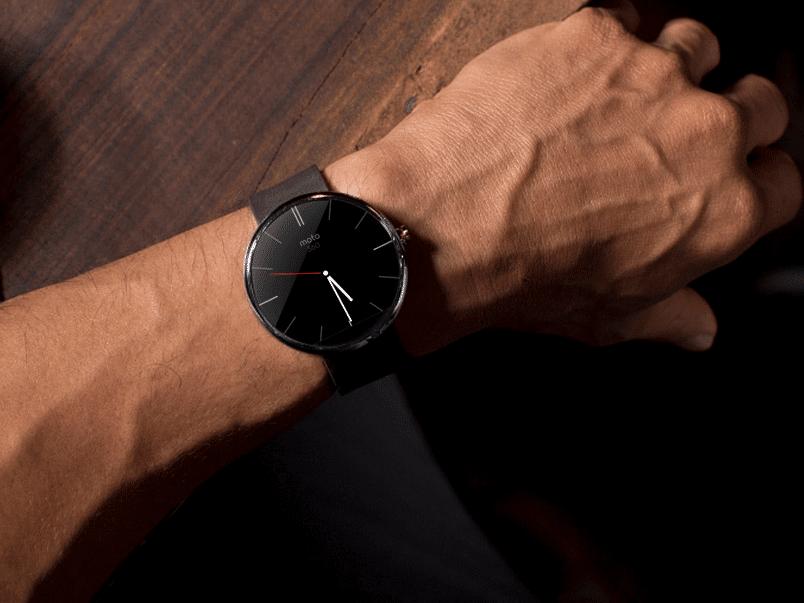 Styl, design, moderna - Motorola Moto 360