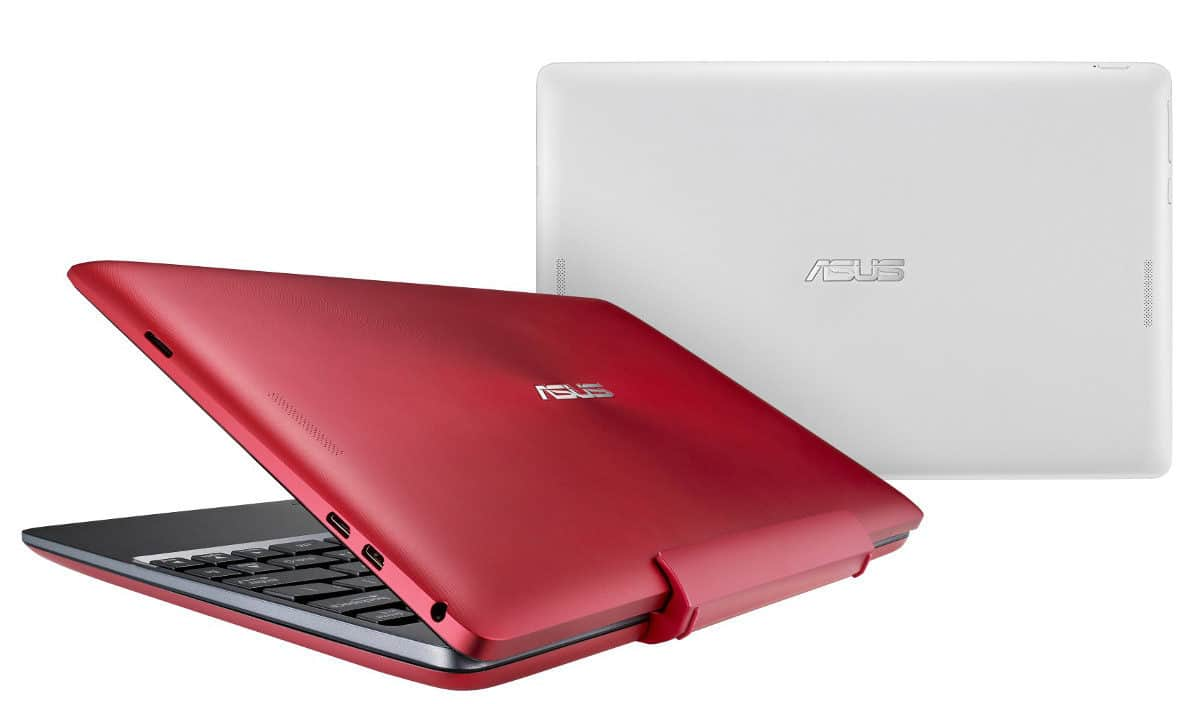 Asus T100 Red