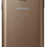 Zadní strana zlatého modelu Z (Samsung)